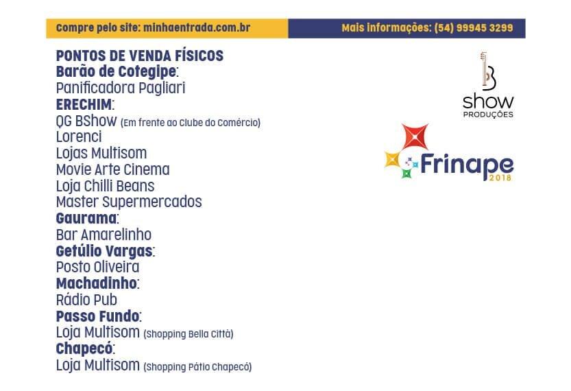 181018 - Frinape - Site - locais de venda