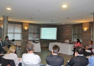Coordenador das Comissões, Gilberto Pezzin, apresentou a  infraestrutura do Parque da ACCIE